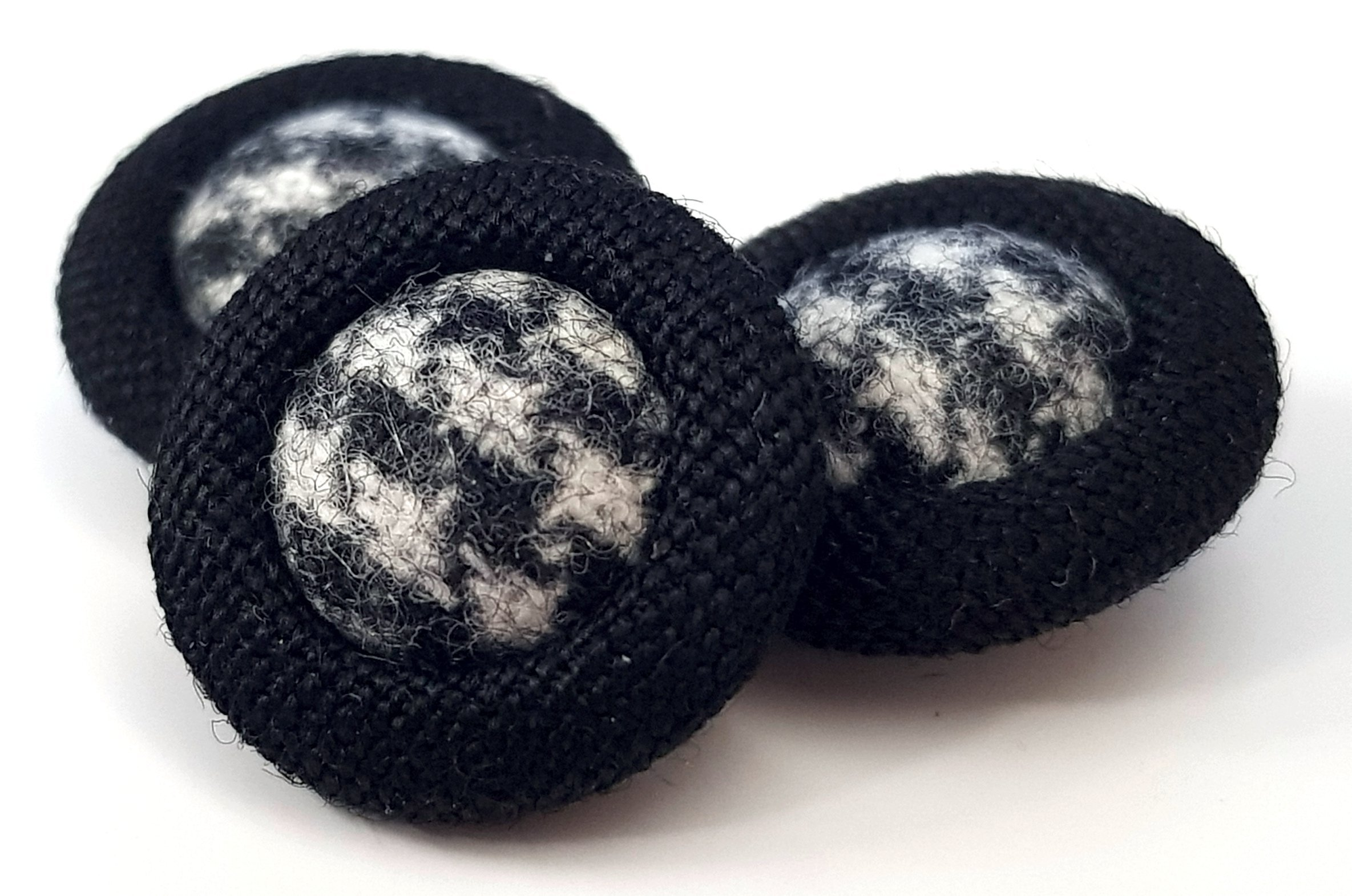 Two Fabric Buttons